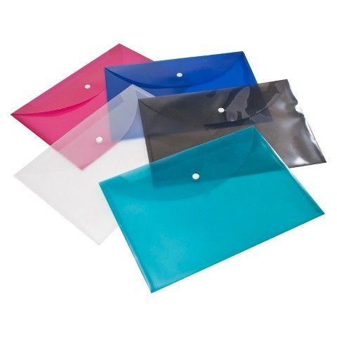 up & up™ Sideload Letter Size Poly Envelopes