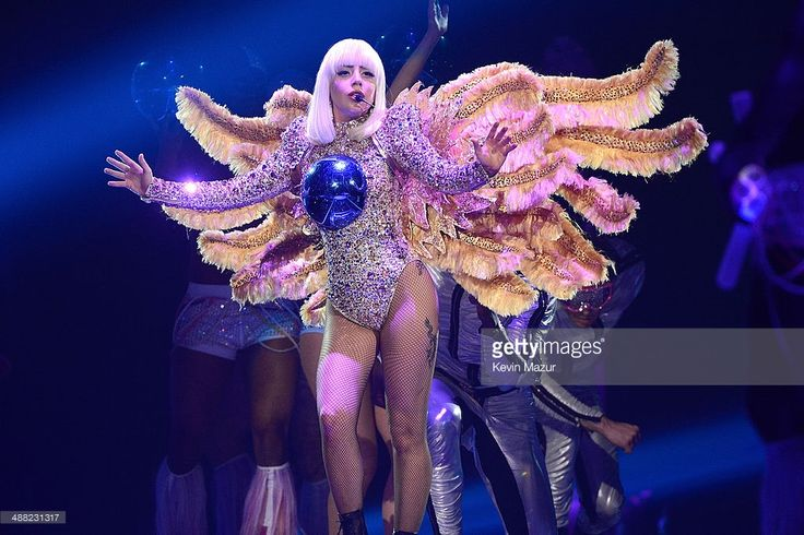 Lady Gaga performs onstage during 'The ARTPOP Ball' tour opener at BB&T…