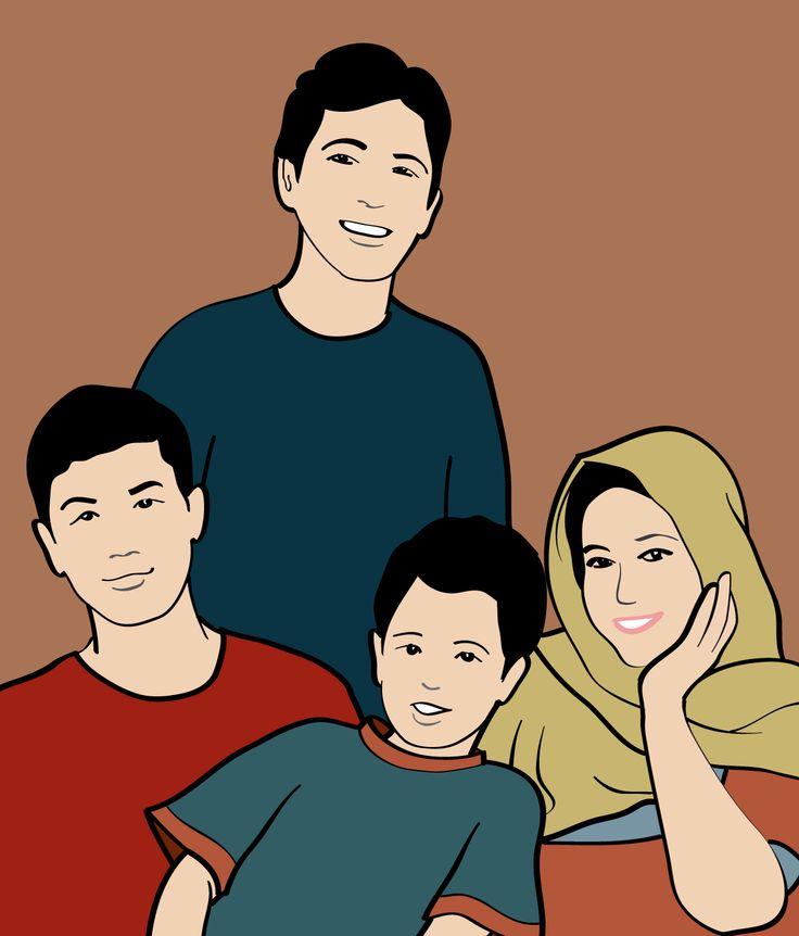 Arif Suherman & Family.