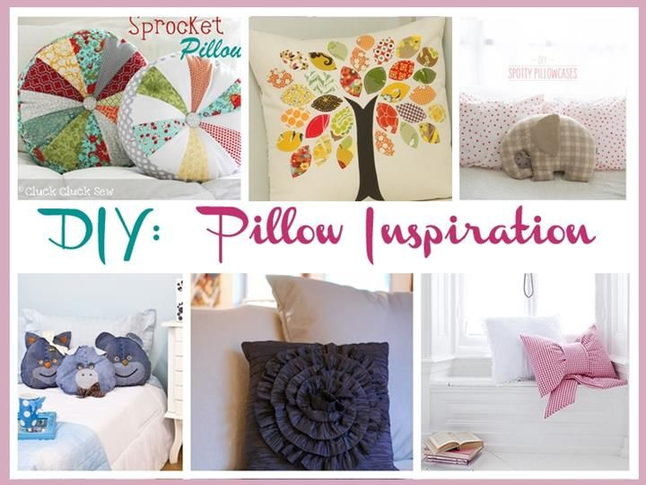 DIY: Pillow Inspiration & 85 best Pillows DIY images on Pinterest   Cushions Diy pillows ... pillowsntoast.com