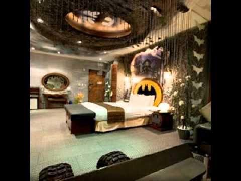 17 best images about batman on pinterest gotham city for Batman bedroom paint ideas
