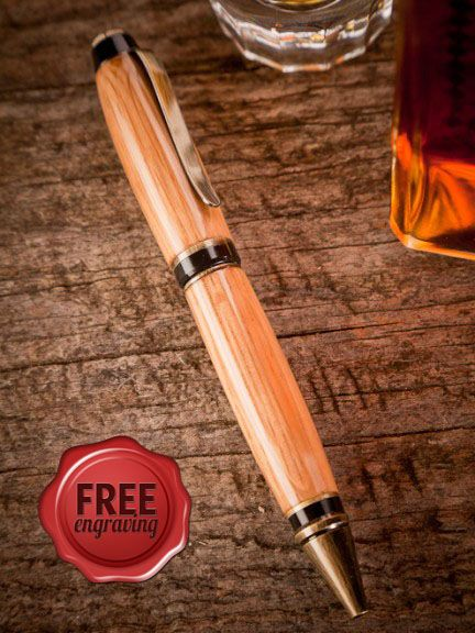 Jack Daniel's Barrel Writing Pen