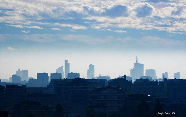 ⭐ SELECTION OF THE DAY ⭐  by #Expo #FineArt #Photography Azzurro Milano Milano - 2015 Photo © Sergio Gorla #Cityscape