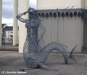 Cranhill Sirens - Mermaid - Andy Scott sculpture
