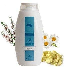 Sampon Bio antimatreata cu unt de shea si tea tree 500 ml