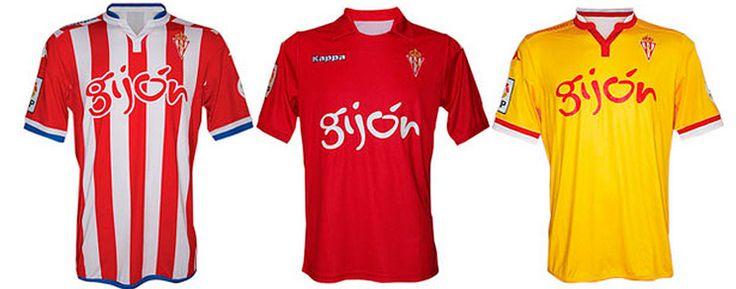 @SportingGijon Camisetas 15/16 #9ine