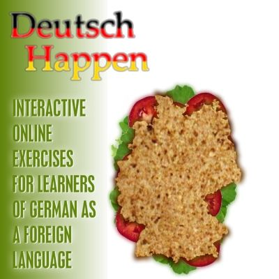 Deutsch Happen is a free resource site that provides students with German language courses such as video lessons, free interactive online exercises about German grammar and vocabulary as well as pronunciation.