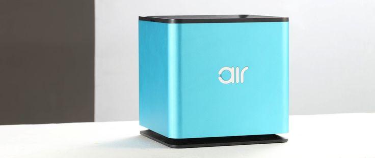 Table Air, le purificateur d'air connecté