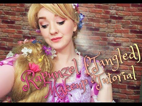 Braided Rapunzel Wig Tutorial 2.0 - YouTube