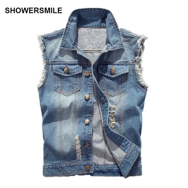 The 25  best Sleeveless denim jacket mens ideas on Pinterest