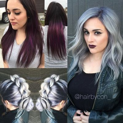 Please vote for this entry in Guy Tang's Hair Battle!  Connie needs to get to LA!!!!!