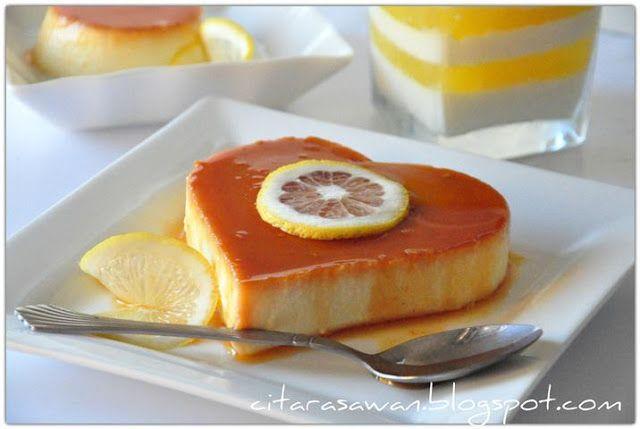 Resipi Citarasawan | Koleksi Resepi Kakwan Puding Keju Karamel / Caramel Cheese Pudding