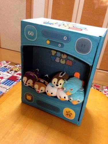 Tsum tsum box DIY