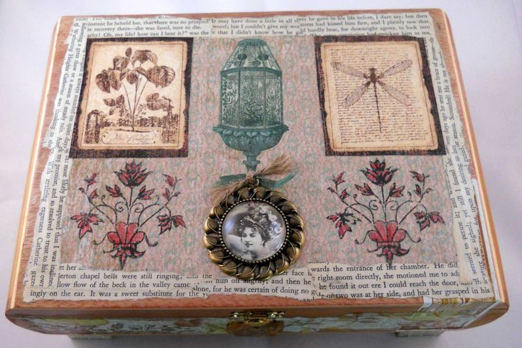 My latest creation to come out of my workshop is an altered cigar box. I found the cigar box in a local smoke shop and loved the shape of t...