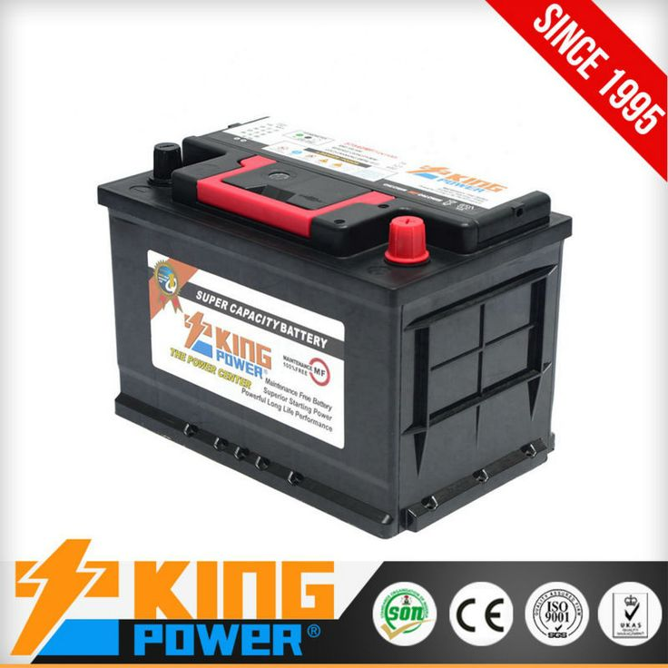 baterias de carro 57540MF 12V75AH King Power