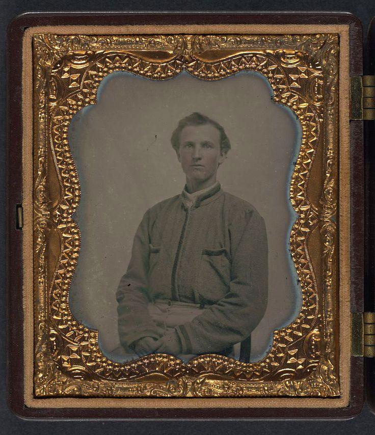 (c. 1861-1865) Lieutenant Horatio J. David of Company B ...