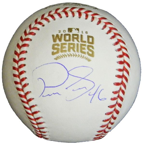 Pedro Strop Signed Rawlings Official 2016 World Series MLB Baseball