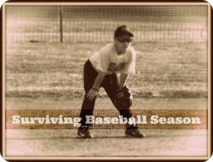 Surviving Baseball Season http://thesurvivalmom.com/surviving-baseball-season/