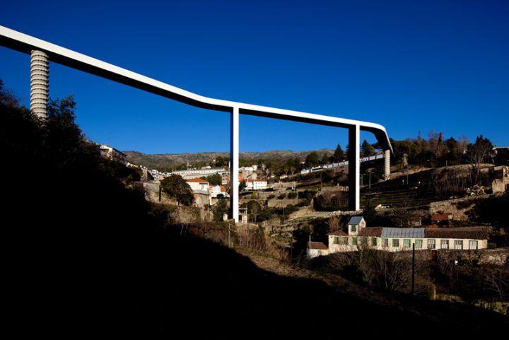 """Ponte Pedonal """"Ribeira da Carpinteira"""""""