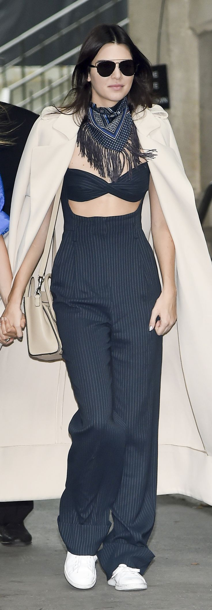 Wait Until You See What Kendall Changed Into After the Chanel Show