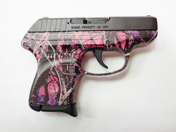 Ruger lcp, Ruger 10/22 and Pink camo on Pinterest