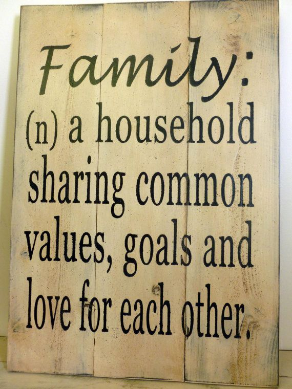 FAMILY Sign Rustic Sign Pallet Sign Wall Decor by RusticlyInspired, $45.00