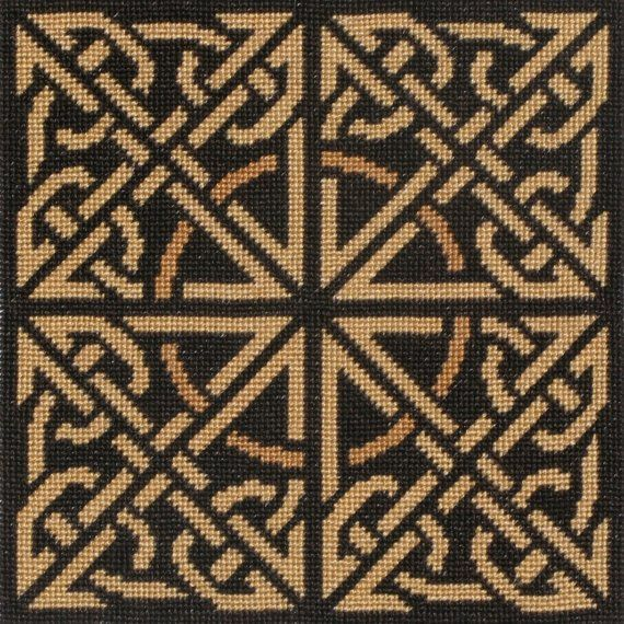 Embroidery And Knitting Stitch Like A Knot Crossword : Celtic Knot - Instant Download - Cross Stitch Pattern PDF