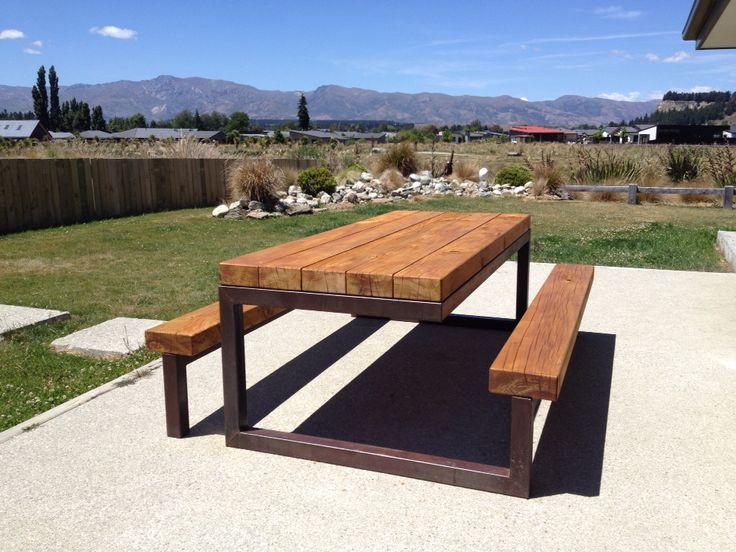 Rusty/stain quirky table