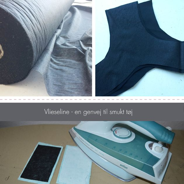 Vlieseline er et indlægsmateriale, der kan stryges på stoffet. Det er med til at forfine tøjets udtryk. Lær hvordan du stryger vlieseline på stoffet.