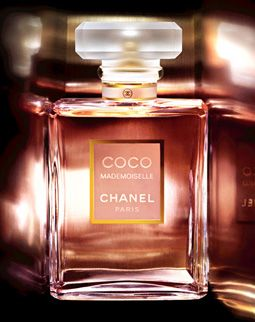 Coco Mademoiselle: A modern oriental fragrance, fresh, sensual and abstract.  The clear, simple, structured spirit of Chanel. (Sephora)