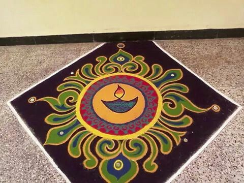 Can replace the diya into ganesha