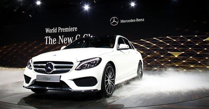 Mercedes-Benz Classe C nacional (abril): C 180 (motor 1.6 turbo de 156 cv), C 200 (2.0 de 184 cv) e C 250 (mesmo 2 litros recalibrado para chegar a 211 cv) nacionais serão lançados no primeiro trimestre, de março para abril