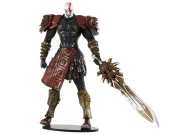Action Figure from God of War II This s action figures is from the famous game God of War II