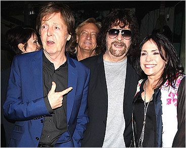 Jeff Lynne and a certain Sir Paul Macca.