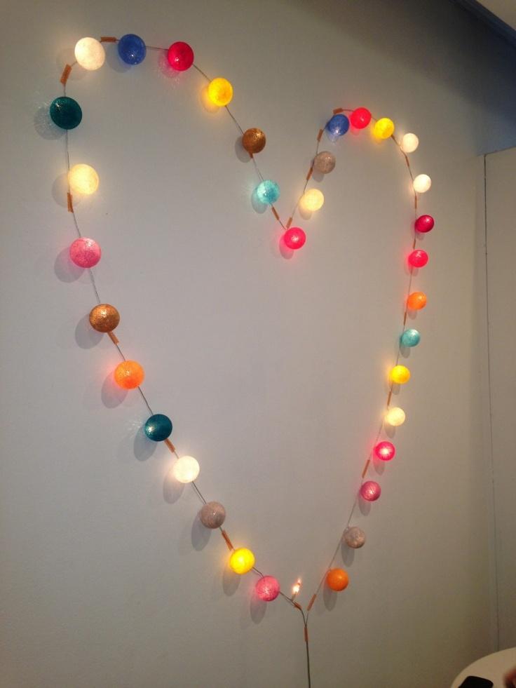 Gorgeous #fairy #light colourful balls