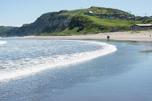 Itanki Beach, Muroran, Hokkaido | Skies and Seas - Cityscapes of Muroran and Otaru - Google+