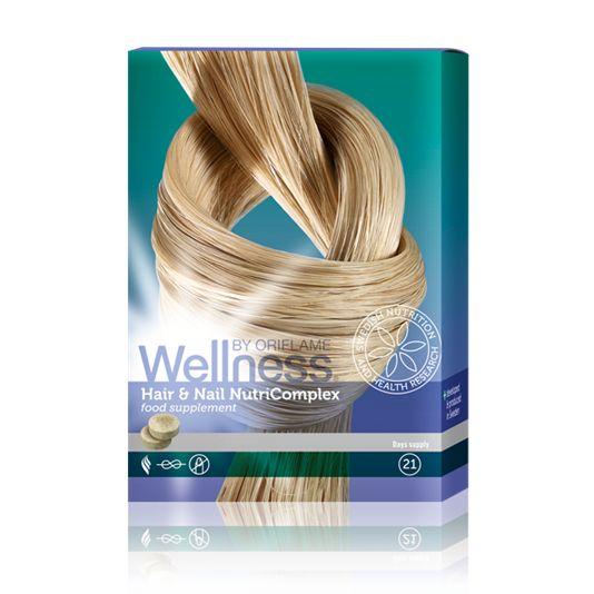 Думаю, не открою Америку, если скажу, что в первую очередь на состояние волос и кожи влияют витамины. Если организму каких-то витаминов не хватает, то это сразу же отражается на состоянии волос. Они становятся ломкими, тусклыми, безжизненными, кончики секутся. Знакомая ситуация? Тогда нужно обязательно пропить курс витаминов, вам помогут витамины: Wellness Нутрикомплекс для волос и ногтей- Данный продукт можно приобрести только в Сервисном Центре Орифлэйм.