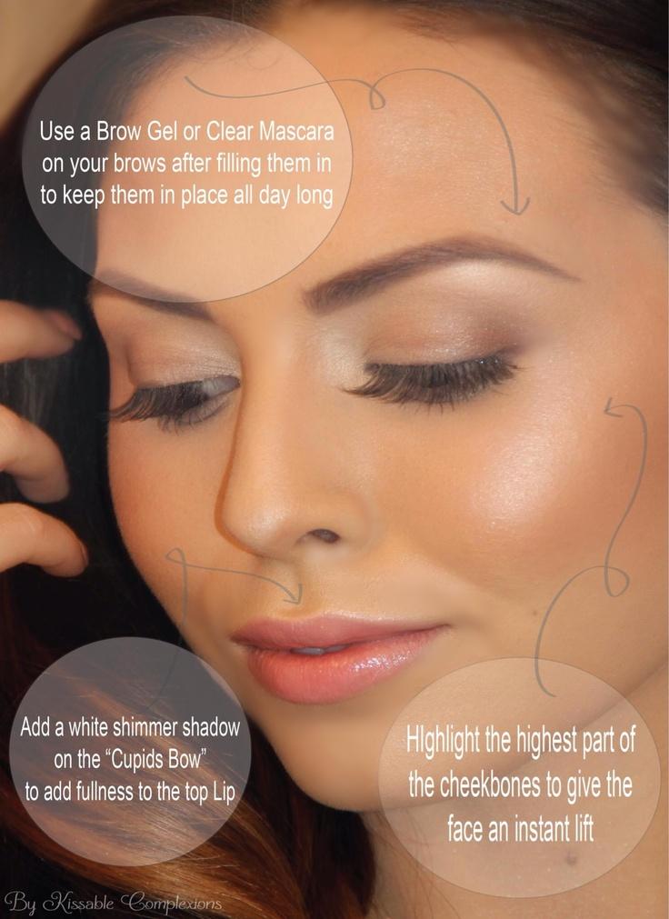 Tips for enhancing a natural makeup look