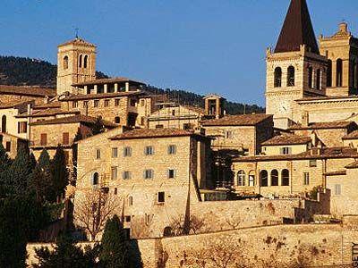 Spello, Italy -- beautiful town in Umbria