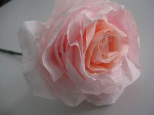 Completely Incredible Coffee Filter Roses | AllFreePaperCrafts.com