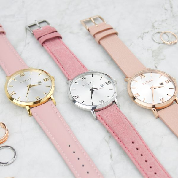 Three shades of pink. Which is your favourite watch?