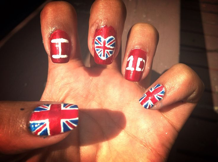One direction nails one direction and nail art on pinterest