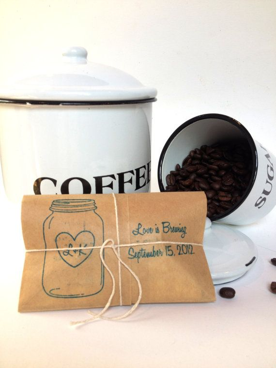 Unique Wedding Gifts Perth : unique weddings wedding decor coffee favors coffee drinkers tea gifts ...