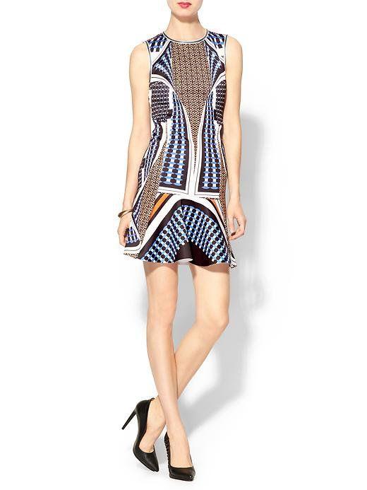 Pin for Later: Diese 11 Kleider aus Piperlimes Frühlings-Sale sind ein Muss Clover Canyon Kleid Clover Canyon Neoprene Twist Scarf Dress ($295)