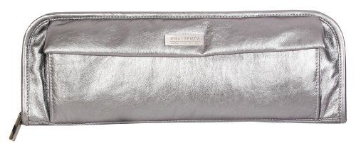 John Frieda Heat Instrument Zip Pouch, Silver by John Frieda. $14.99. Durable and portable. Hold all of your small styling accessories. Zip pouch with heat-resistant lining and velcro front pocket. This John Frieda heat-resistant zip pouch conveniently holds all of your small styling accessories. It has a heat-resistant lining for curling irons and flat irons and even has a velcro front pocket to keep all of your supplies safely contained.