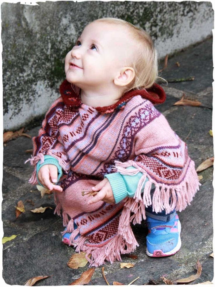 Ghita poncho  #childrens #wool hooded #poncho with #ethnic designs and fringes. - See more at: http://www.lamamita.co.uk/en-US/store/winter-clothing/1/children-ponchos/ghita-childrens-wool-hooded-poncho#sthash.TOrKQbW2.dpuf