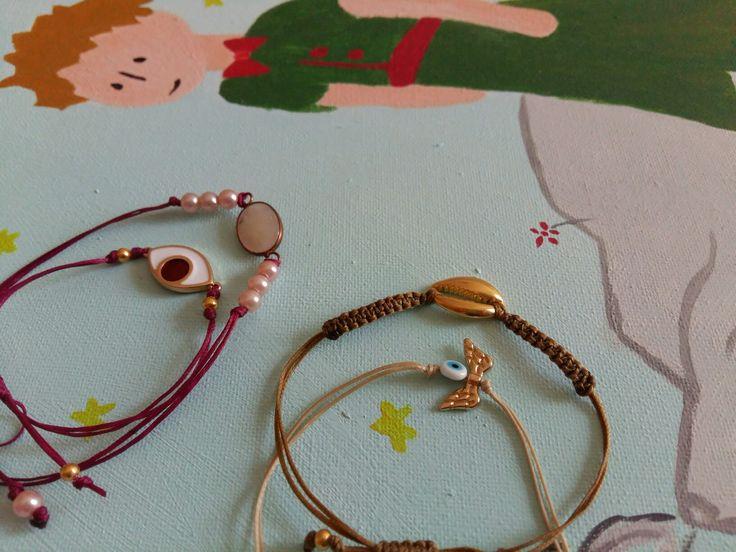 Fall bracelets....