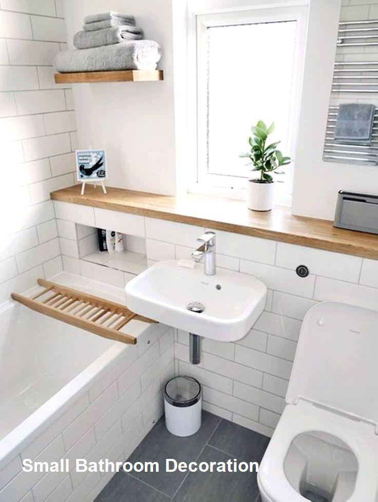 15 Decor And Design Ideas For Small Bathrooms 1 In 2020 Small Bathroom Decor Bathroom Layout Small Bathroom