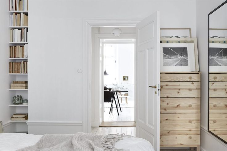 Decoración de apartamentos: dormitorio en estilo nórdico 12