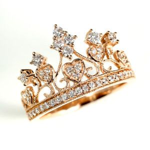 Crown Ring | Lindblom Jewelers Would like if it was sterling silver. Gold doesn't like me and I don't like it...